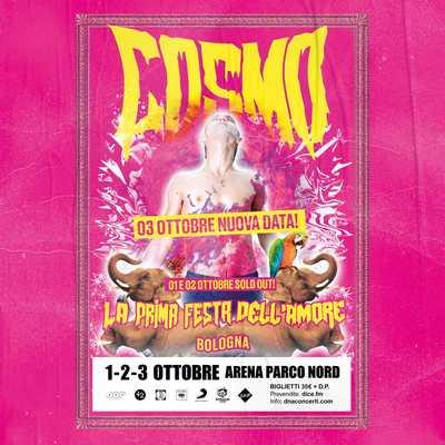 Cosmo live terza data Bologna