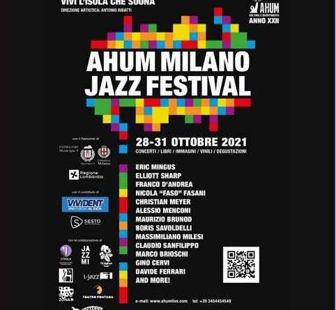 AHUM Milano Jazz Festival.