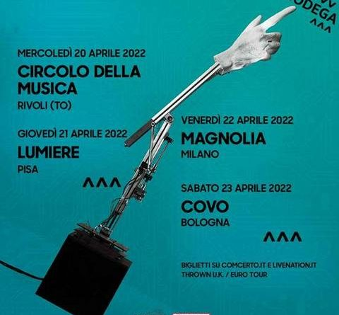 Bodega live in Italia